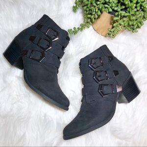 Betseyville Black Ankle Booties
